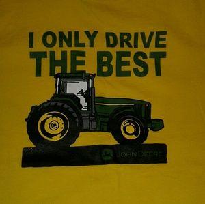 John Deere Tops - John Deere Tee Bright Yellow